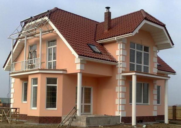 Покрасить фасад дома