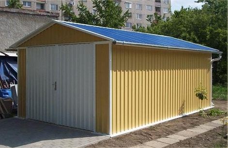 Изготовление металлического гаража краснодар отделка металлического гаража снаружи